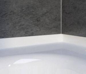 Уголок для ванны из акрилового камня