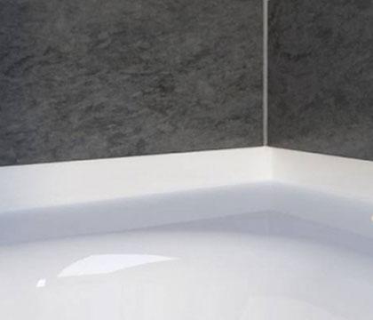 Плинтус для ванны из искусственного камня