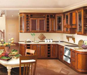Кухня из массива 11