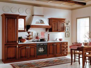 Кухня из массива 13