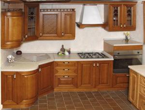 Кухня из массива 6