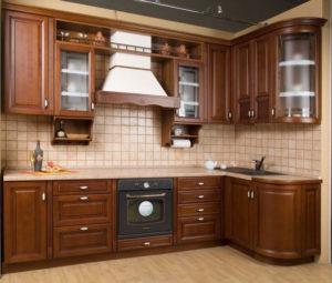 Кухня из массива 8